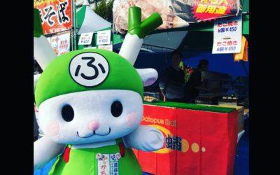 田道広場での2日間の桜祭り🌸たくさんの御来場ありがとうございました😊頑固蛸にもふかっちゃんが遊びに来てくれました💕実行委員関係者、ボランティアの皆様には感謝感謝です💯また来年もよろしくお願いいたします🐙